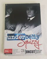 Underbelly Squizzy Uncut DVD 3 Disc Set Roadshow Entertainment PAL 4 Sealed NEW