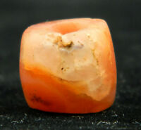 KYRA MINT - ANCIENT Agate BEAD - 11 mm DIA - Neolithic AGE - Sahara