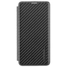 COMMANDER TASCHE SmartCase NOBLESSE Carbon Style für Samsung Galaxy S10 - schwar