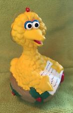 Vintage Jim Henson Production Inc. Big Bird Ornament Plastic