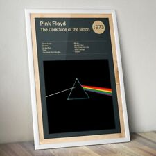 More details for pink floyd print, dark side of the moon print, pink floyd poster, rock band