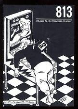 REVUE 813 n°25  Jacques LOUSTAL  Didier DECOIN  Michel JANS   Polar Japonais