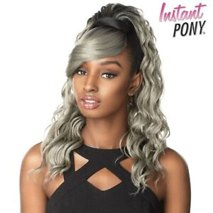 Sensationnel Synthetic Ponytail Instant Pony and Bang - BRIT