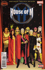 US COMIC PACK HOUSE OF M 1-4 Secret Wars Marvel englisch