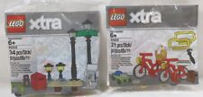 LEGO Creator XTRA Street Lamp Posts 40312 & 40313 Bicycle Picnic Bike Sets Extra