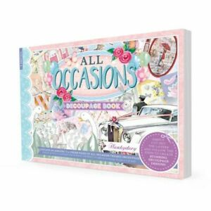 Hunkydory - All Occasions Decoupage Book - DECBOOK104