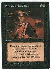 Demonic Tutor FBB Revised French SP Old School Black Border