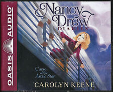 NEW Nancy Drew Diaries Curse of the Arctic Star by Carolyn Keene Audio Book 1 CD
