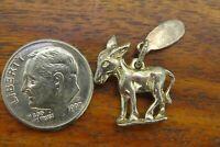Vintage silver ST. CROIX VIRGIN ISLANDS CARIBBEAN DONKEY MULE 3D BRACELET charm