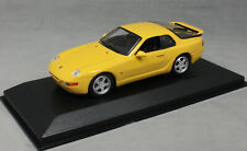 Minichamps Maxichamps Porsche 968 Clubsport in Yellow 1993 940062321 1/43 NEW