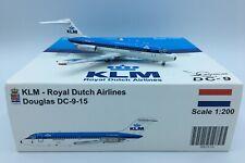 "JC WINGS (XX2830); KLM DC-9-15 ""City of Luxembourg"" Reg.PH-DNC; 1/200 Model"