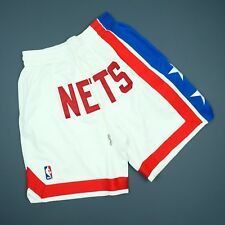 b4d264ffc 100% Authentic Just Don Mitchell Ness Nets Short Size 40 Medium M Mens