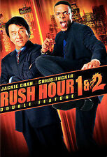 Rush Hour 1 & 2 Dvd (Double Feature) >New