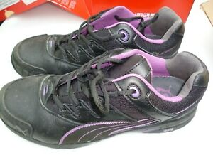 Schuhe Damen Sicherheitsschuhe von Puma schwarz/pink Gr. 42