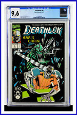 Deathlok #4 CGC Graded 9.6 Marvel October 1991 White Pages Comic Book