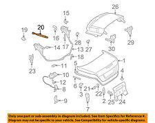 Mercedes MERCEDES-BENZ OEM SLK350 Trunk-Lift Support Strut Shock Arm 1717500036