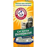 Arm & Hammer - Cat Litter Deodorizer with Baking Soda (20 ounce box)
