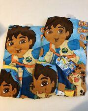 2 New Go Diego Go Towel And Washcloth Sets