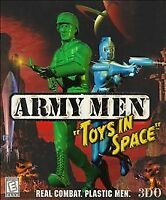 Army Men Toys In Space PC CD-ROM Game 1999 Rare 3DO