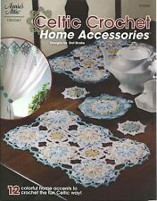 Celtic Crochet Home Accesories Instruction Patterns Annies Booklet Dot Drake NEW