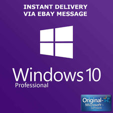 WINDOWS 10 PRO 32 / 64BIT PROFESSIONAL LICENSE KEY ORIGINAL CODE SCRAP PCH