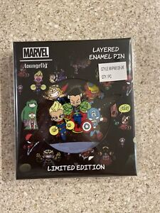"""Funko Loungefly: MARVEL SKOTTIE AVENGERS 3"""" PIN - Limited Edition 600 pcs"""