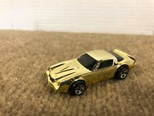 Vintage 1982 Hot Wheels Camaro Z28 Dragon Fire Gold Chrome Car LOOSE