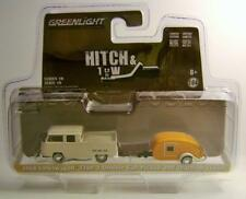 1968 '68 VOLKSWAGEN VW TYPE 2 DOUBLE CAB W/ TRAILER HITCH & AND TOW GREENLIGHT