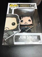 Jon Snow Funko Pop Vinyl #7 Game Of Thrones Figure