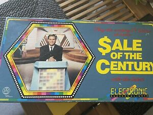 SALE OF THE CENTURY 1990 Buzzer Board Game Battery Operated Vintage
