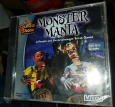VTECH Quizz Show: Monster Mania [4th-6th grade] (New) Windows 95/98 CD-ROM