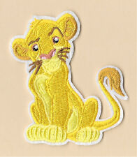 Simba - The Lion King - Lion - Disney - Embroidered Iron On Applique Patch
