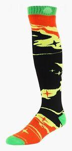 Troy Lee Designs Gp Socks Socken Galaxy Black Yellow 11-13