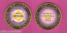 Nevada Brothel Inspector's Badge Metal Cathouse  Whore House TOKEN