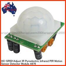 IR Mini Adjust Pyroelectric Infrared PIR Motion Human Sensor Detector Module NEW