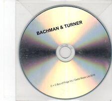 (DZ50) Bachman & Turner - 2010 DJ CD