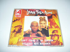 TWENTY 4 SEVEN feat. STAY-C NANCE - LEAVE THEM ALONE * 4 TRACK CD MAXI 1994 *