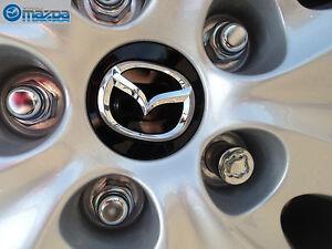 Mazda CX5, CX7,CX9, 3, 5, 6, Miata & RX-8  New OEM Black center cap KD51-37-190