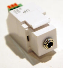 12VDC 3.5mm Female Keystone Style IR Receiver for use with Cat5e Cat6 Cable
