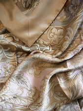 "3 pc100% mulberry silk charmeuse King Duvet comforter cover set 105x93"" Camillia"