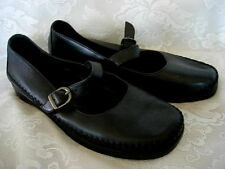 Quality DEXTER Black Leather Mary Jane Style Shoes - 9 M / B - NEW