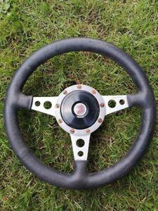 Moto Lita MG steering wheel And boss original
