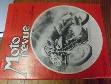 µ?  Moto Revue n°1635 Trajectoire en demi cercle Cote Lapize