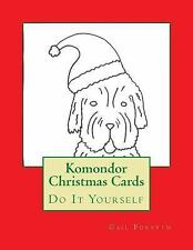 Komondor Christmas Cards : Do It Yourself by Gail Forsyth (2015, Paperback)