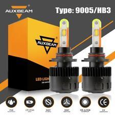 AUXBEAM 9005 HB3 RGB LED Headlight Fog Kit Driving DRL Lights+APP Control 2in1
