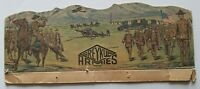 GREY IRON KLIP 1917 SCARCE Original Toy Soldier Retail Backing Card GREY IRON