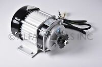 500W 48V Electric GoKart Tricycle Cart Brushless Motor DIY GEAR Reduction BLDC