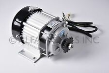 500W watt 48V Electric GoKart Tricycle Brushless Motor DIY GEAR Reduction Engine