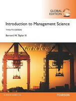 3 Days AUS Introduction to Management Science 12E Bernard W. Taylor 12th Edition