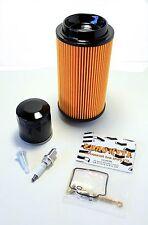 POLARIS MAGNUM 325 2000 2001 TUNE UP KIT Oil Air Fuel Filter Carb Rebuild Spark